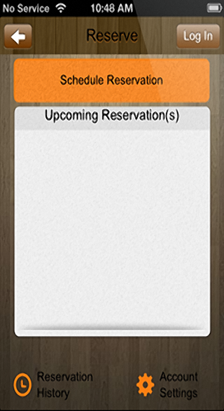 Reservation Feature