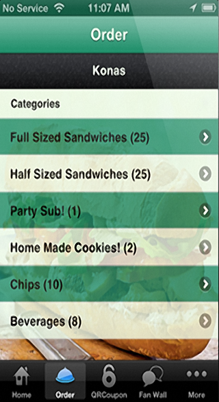 Food Ordering Feature